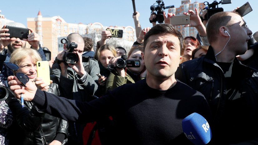 Зеленский поблагодарил сотрудников МВД Украины за работу в день выборов