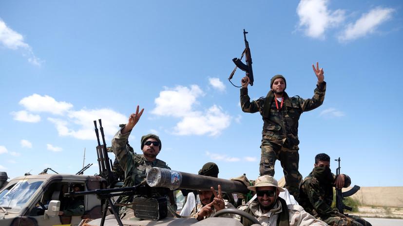 СМИ узнали о взятии армией Хафтара военного лагеря Ярмук
