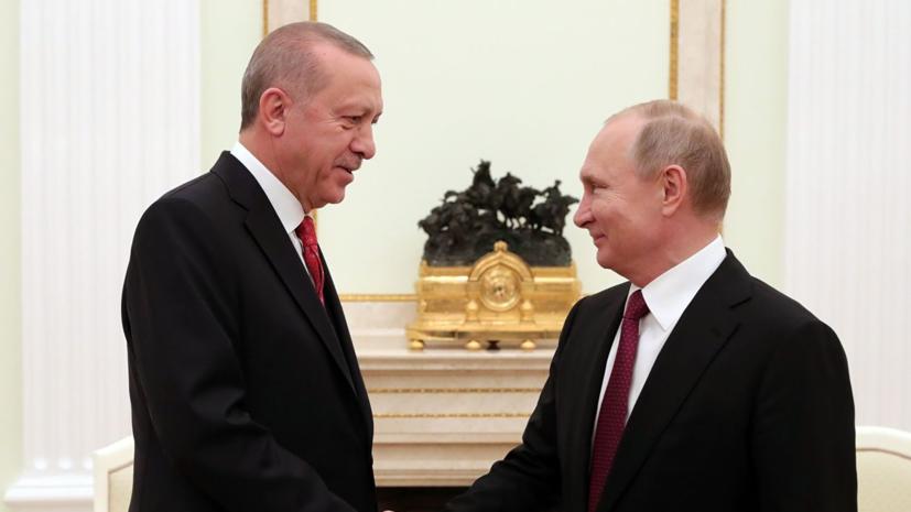 Эрдоган намерен обсудить с Путиным безвизовый режим