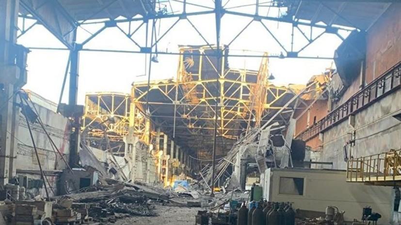 СМИ: Подобрушившимся заводом вДзержинске могли оказаться сборщики металлолома