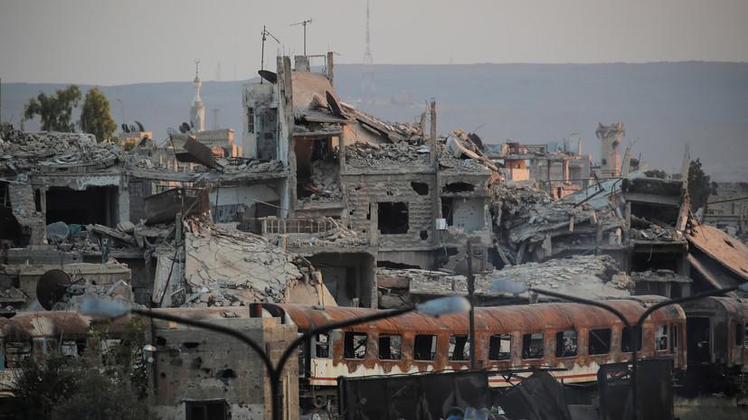 Четверо мирных жителей погибли в результате обстрела боевиков в Сирии