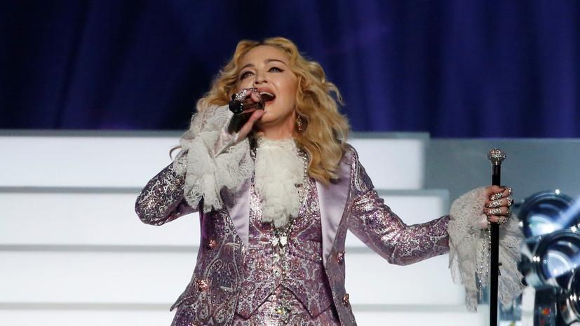 Мадонна выступит в финале Евровидения за $1 млн