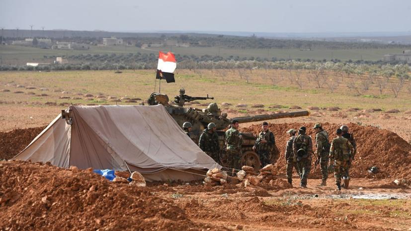 Источник: группа боевиков напала на позиции армии в сирийской Хаме