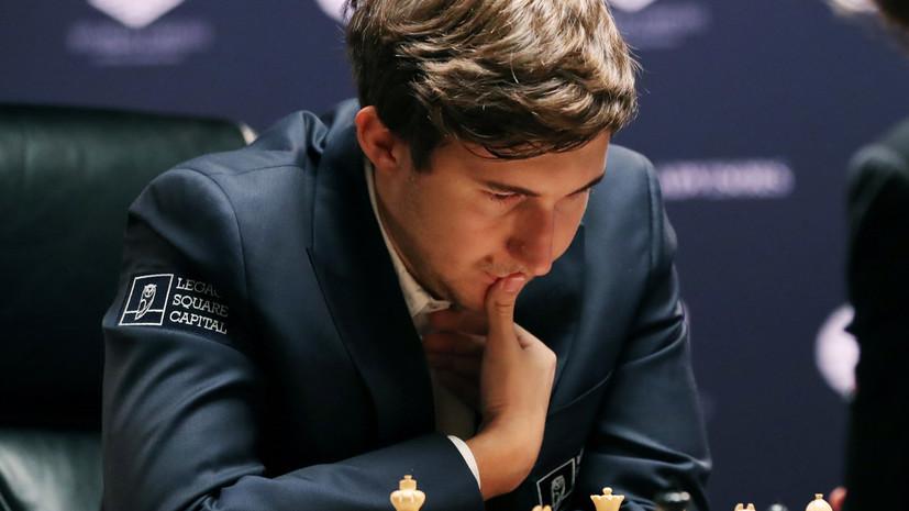 Карякин занял третье место на шахматном турнире в Азербайджане