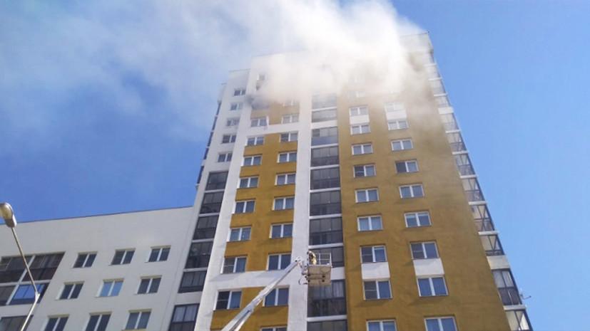 «Идёт проверка»: правоохранительные органы устанавливают причину взрыва в жилом доме в Екатеринбурге