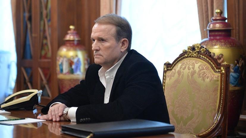 В Кремле рассказали о встрече Путина с Медведчуком