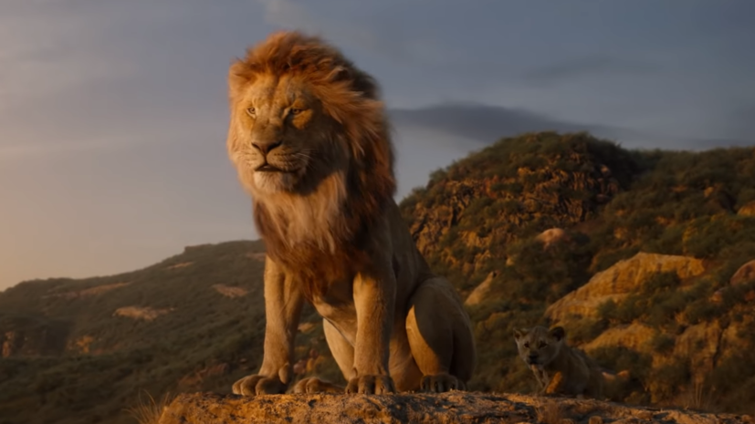 Walt Disney опубликовала трейлер фильма «Король Лев»