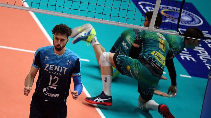 Kazan Zenit Reached The Final Of The Volleyball Champions League Teller Report