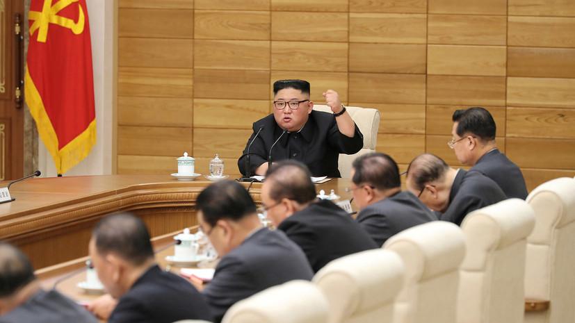 Ким Чен Ын пригрозил нанести удар по желающим поставить КНДР на колени