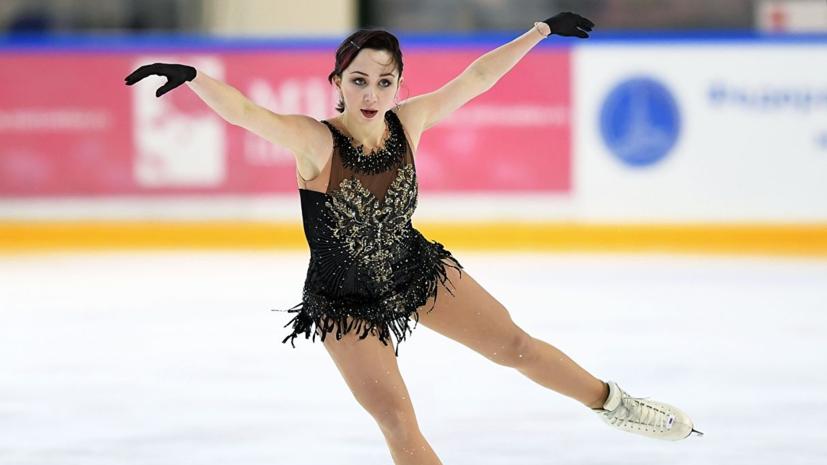 Туктамышева установила личный рекорд в короткой программе на ЧМ в Японии