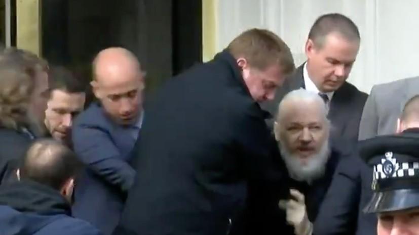 В Кремле прокомментировали задержание Ассанжа