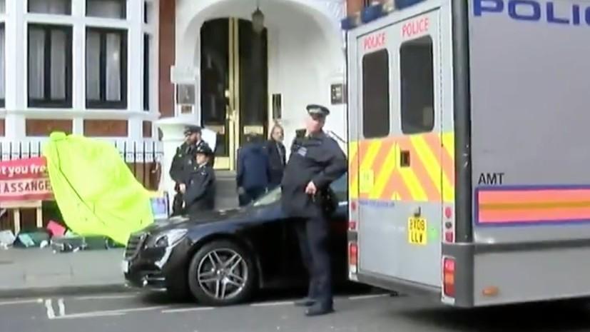 МИД России прокомментировал операцию Британии по задержанию Ассанжа