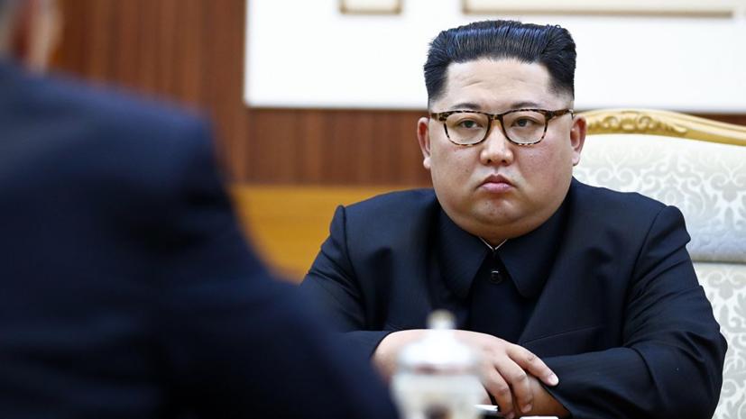 Путин поздравил Ким Чен Ына с переизбранием на пост главы Госсовета КНДР