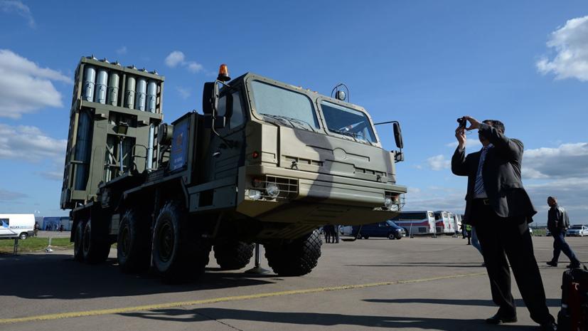 В России завершились испытания новой ракетной системы «Витязь»
