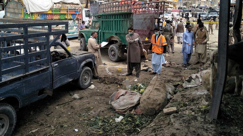 Один человек погиб и восемь пострадали в результате взрыва в Пакистане