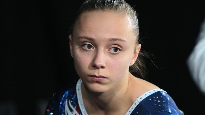 Гимнастка Ильянкова победила в упражнениях на брусьях на ЧЕ