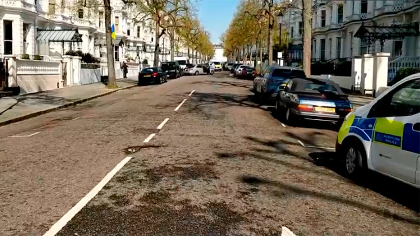 В Лондоне рядом с посольством Украины произошла стрельба