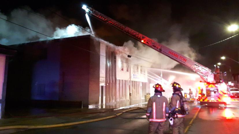 В Канаде сгорело здание Украинского культурного центра