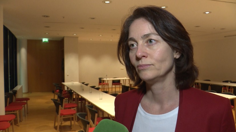 German Justice Minister Katharine Barley criticized because of an