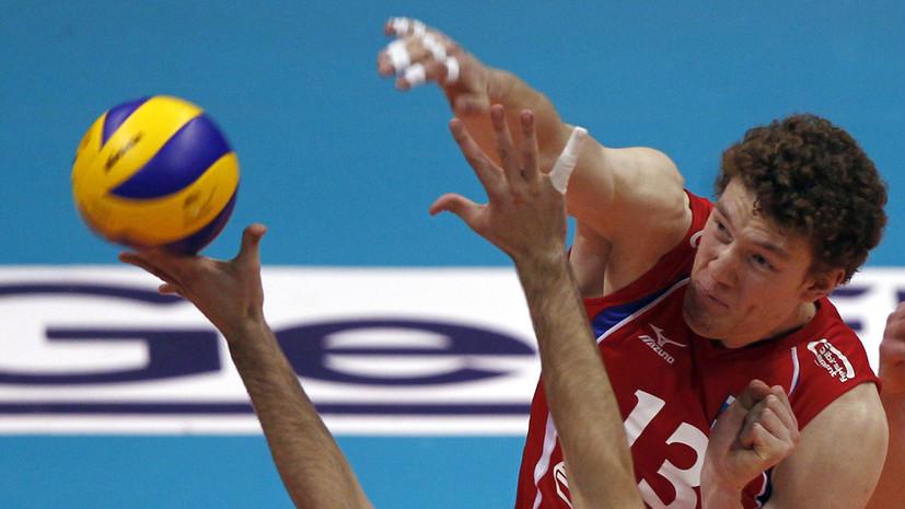 Российский волейболист Мусэрский признан лучшим нападающим чемпионата Японии