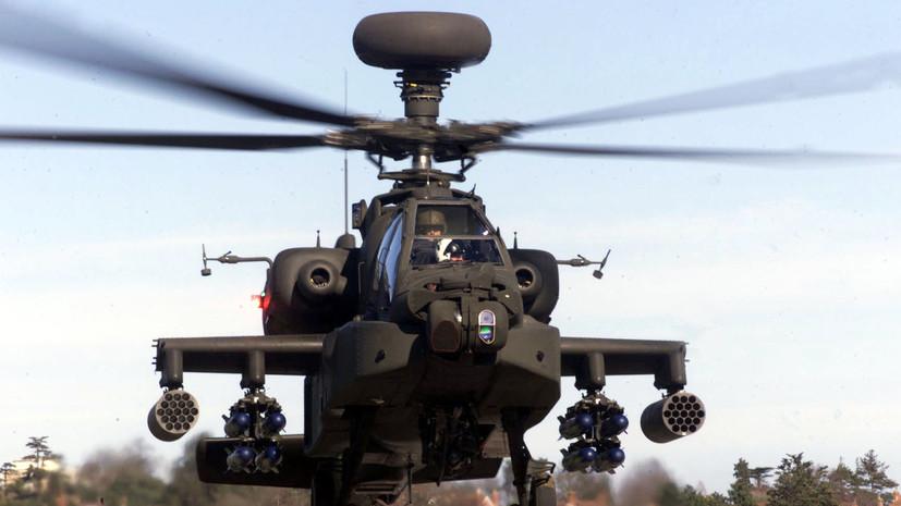 В Эстонию прибыли британские вертолёты из-за «вероятной агрессии России»