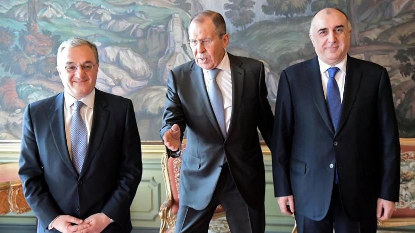 На переговорах по Карабаху договорились о допуске родных к заключённым