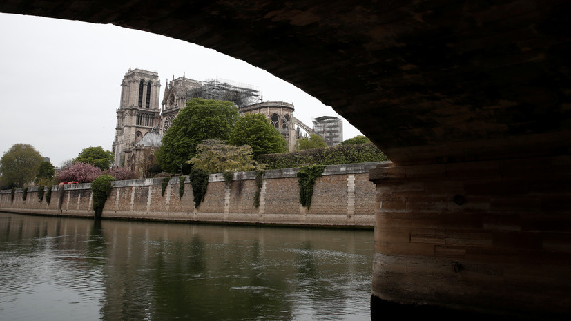Швыдкой заявил о готовности России оказать поддержку Франции после пожара в Нотр-Даме