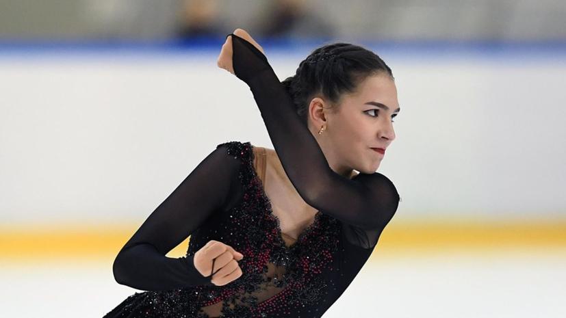 Фигуристка Константинова рассказала, чему хочет научиться у Загитовой и Медведевой