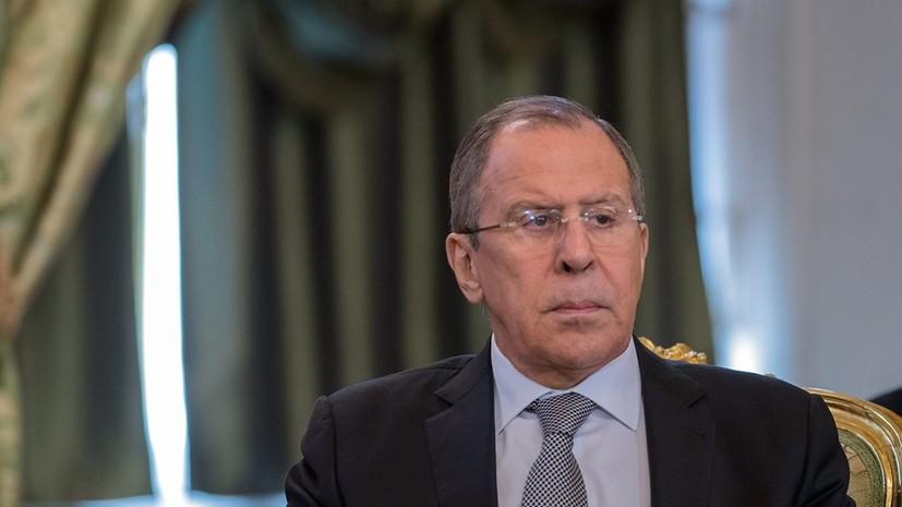 Лавров отметил продолжающееся давление на Сербию в вопросе Косова