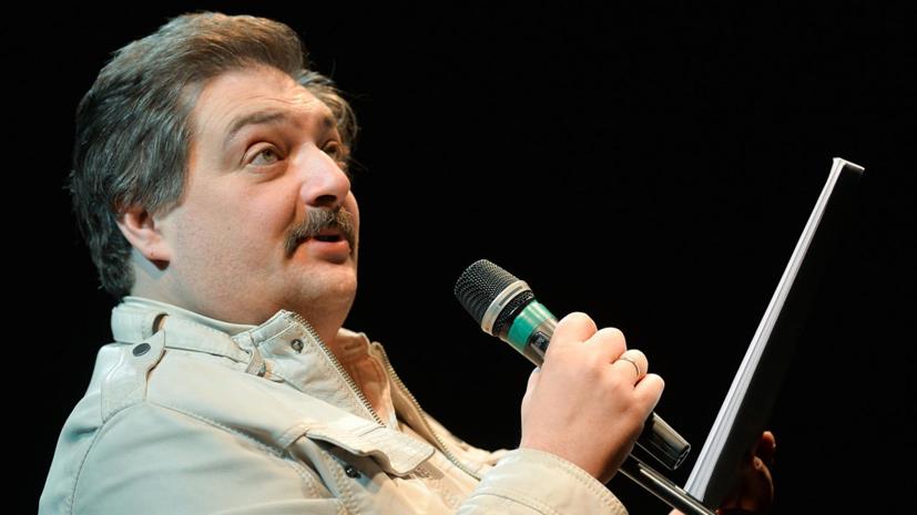 Венедиктов рассказал о состоянии Дмитрия Быкова
