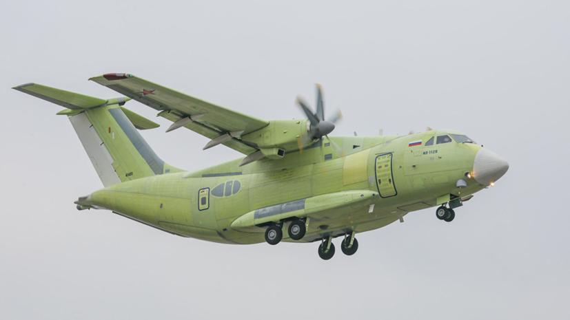 Презентация Ил-112 состоится на МАКС-2019
