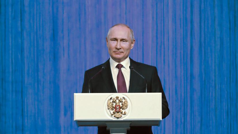 Путин выступил против революционных реформ в системе госуправления