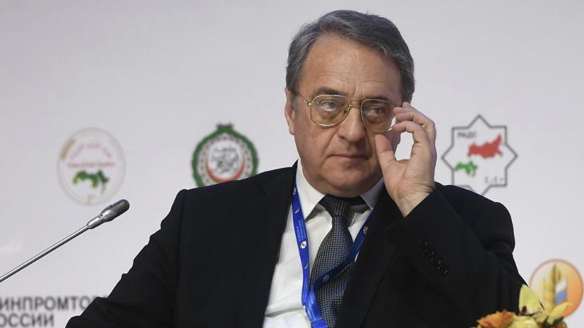 Богданов провёл в Хартуме переговоры с новым руководством Судана