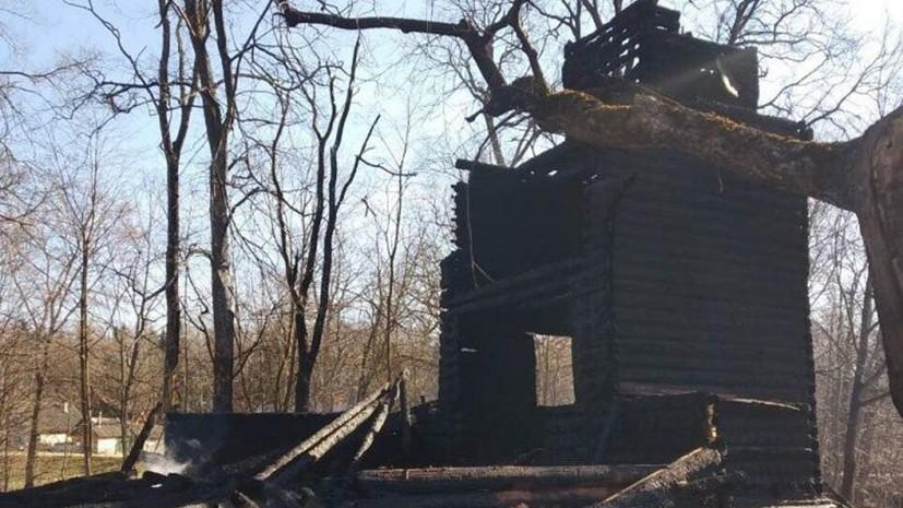 В Белоруссии сгорел деревянный католический храм XIX века