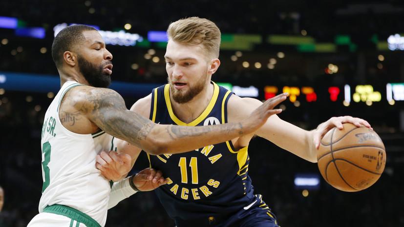 «Бостон» победил «Индиану» в плей-офф НБА, Ирвинг набрал 37 очков
