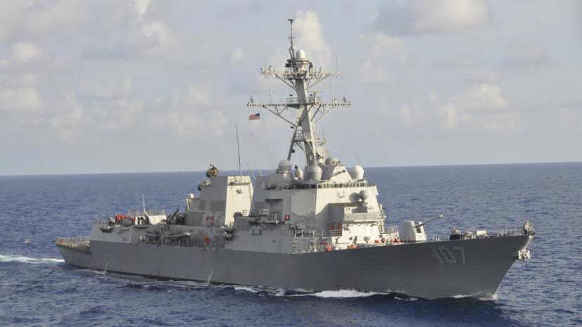 Корабли НАТО вошли в акваторию Балтийского моря