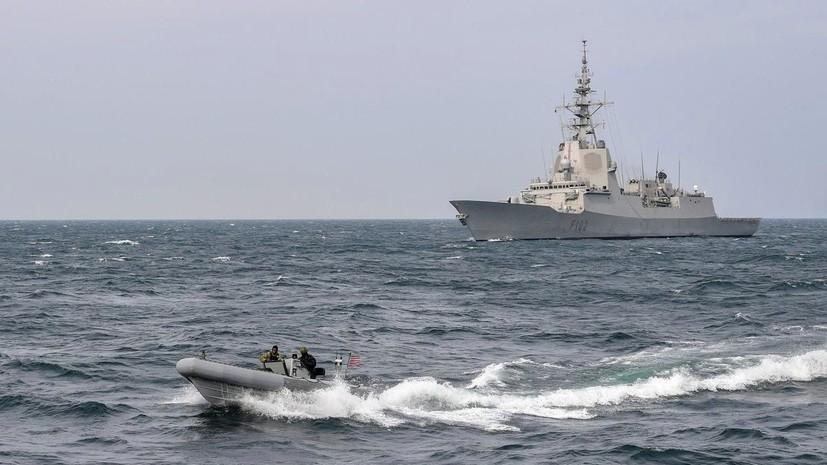 В Госдуме прокомментировали нахождение кораблей НАТО в акватории Балтийского моря
