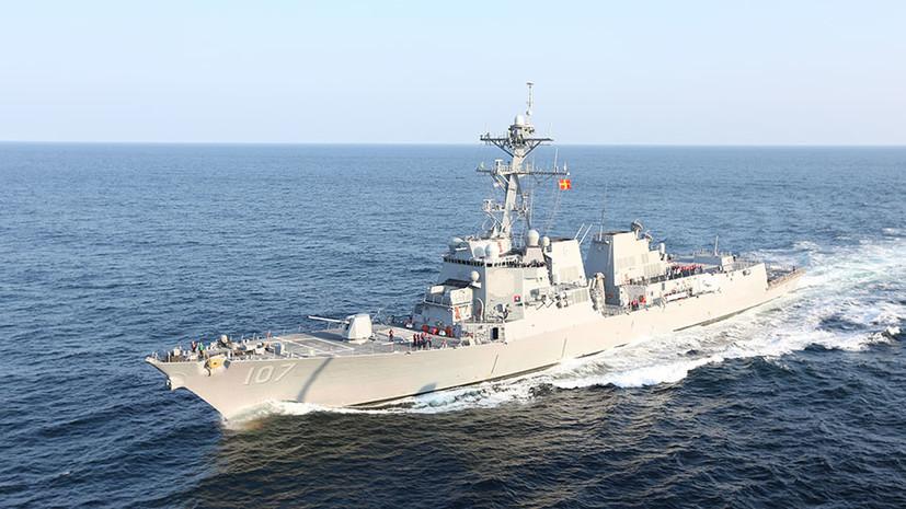 Оперативное реагирование: ВМФ России наблюдает за группой кораблей НАТО в Балтийском море