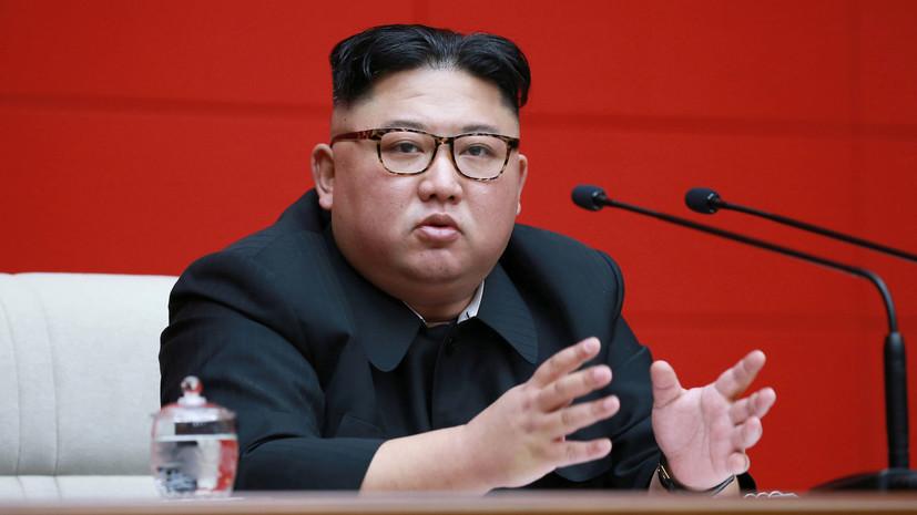 В Китае прокомментировали запланированный визит Ким Чен Ына в Россию