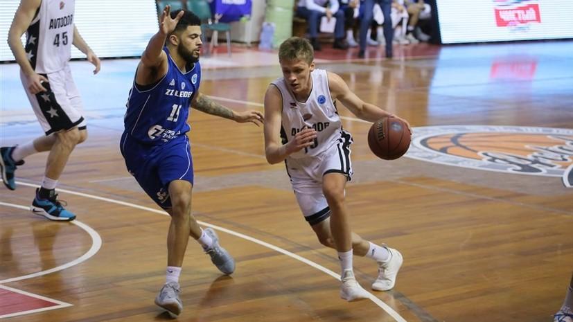 Российский баскетболист Михайловский выставил свою кандидатуру на драфт НБА
