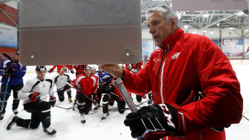 Эксперт назвал Хартли сильнейшим иностранным тренером в истории российского хоккея