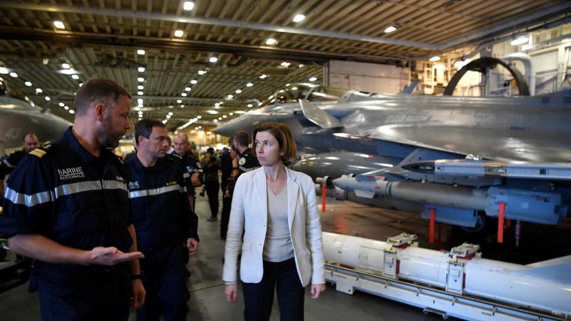 Минобороны Франции заявило о росте экспорта оружия в 2018 году на 30%