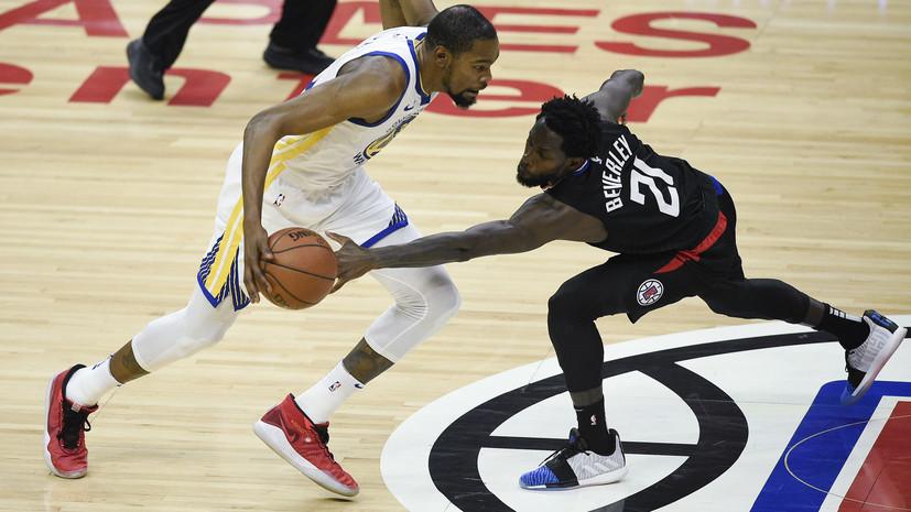 «Уорриорз» вернул лидерство в серии плей-офф НБА с «Клипперс», Дюрант набрал 38 очков