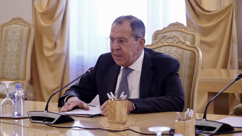 Лавров заявил о бесцеремонном вмешательстве США в строительство «Северного потока — 2»