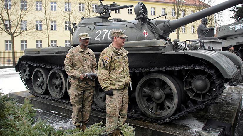 «Наместник Вашингтона в Европе»: зачем США собираются увеличить военный контингент в Польше