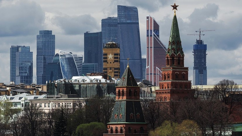 В Москве ожидается потепление до +25 °С