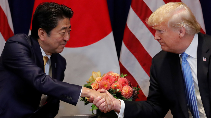 Глава МИД Японии анонсировал визит Абэ в США