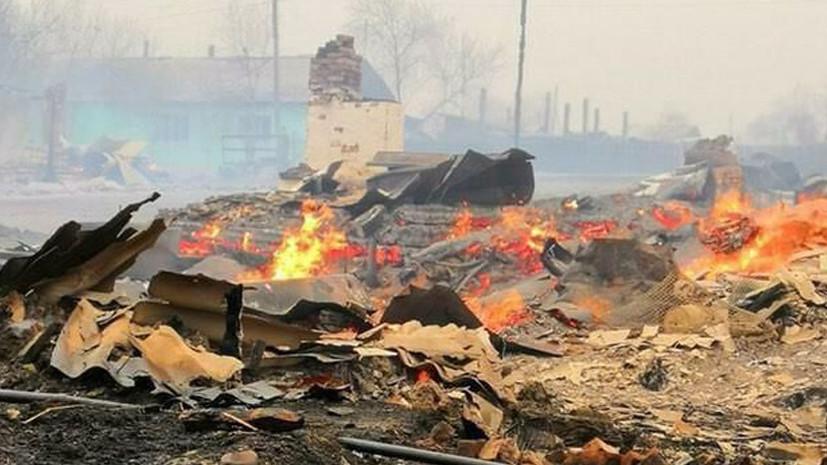 В МЧС сообщили о пожарах в восьми населённых пунктах Забайкалья