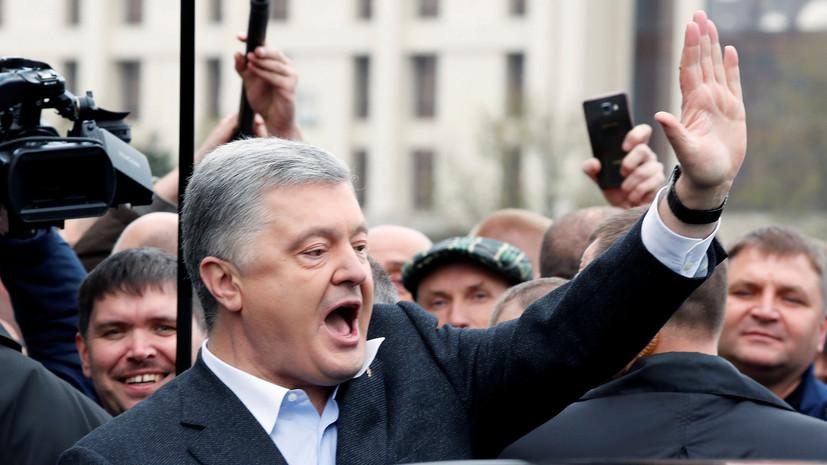 Зеленский и Порошенко прибыли в «Олимпийский» в Киеве