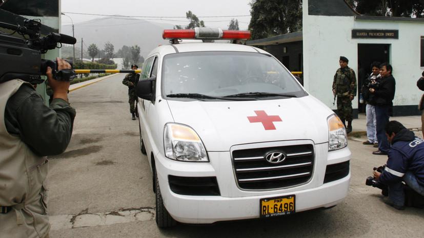 Восемь человек погибли в результате ДТП в Перу